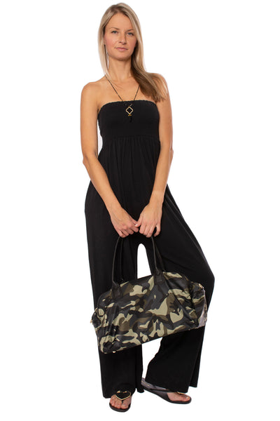 Bobi - Wide Leg Jumper (519-26273, Black) alt view 7