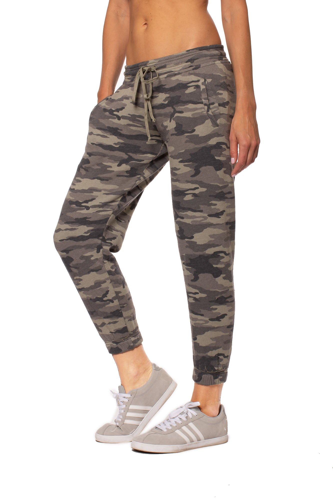 Hard Tail Forever - Slouchy Drawstring Jogger w/Pockets (CAMF-05, CAMP)