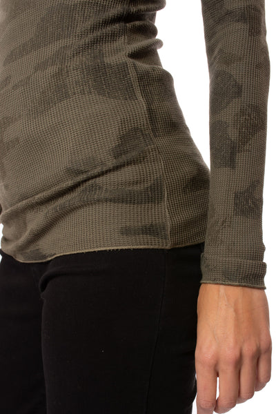 Hard Tail Forever - Thermal Long Sleeve Turtle (TH-35, Thermal Olive Camo) alt view 5