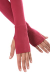 Hard Tail Forever - Long Sleeve Thumbhole w/Rose Gold Star (SL-143, Dragon Fruit) alt view 3