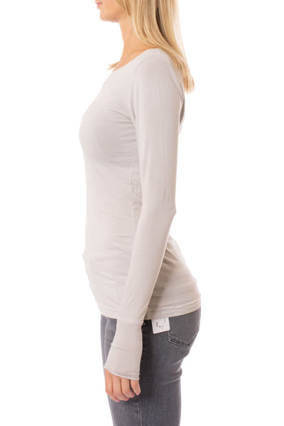 Hard Tail Forever - Supima/Lycra Long Sleeve Thumbhole (SL-143, Thyme) alt view 1
