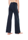 Wide Leg Roll Down Pants (Style W-326, Midnight Blue) by Hard Tail Forever alt view 1