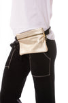 Vail Belt Bag (Style VAIL, Platinum) by Zina Kao