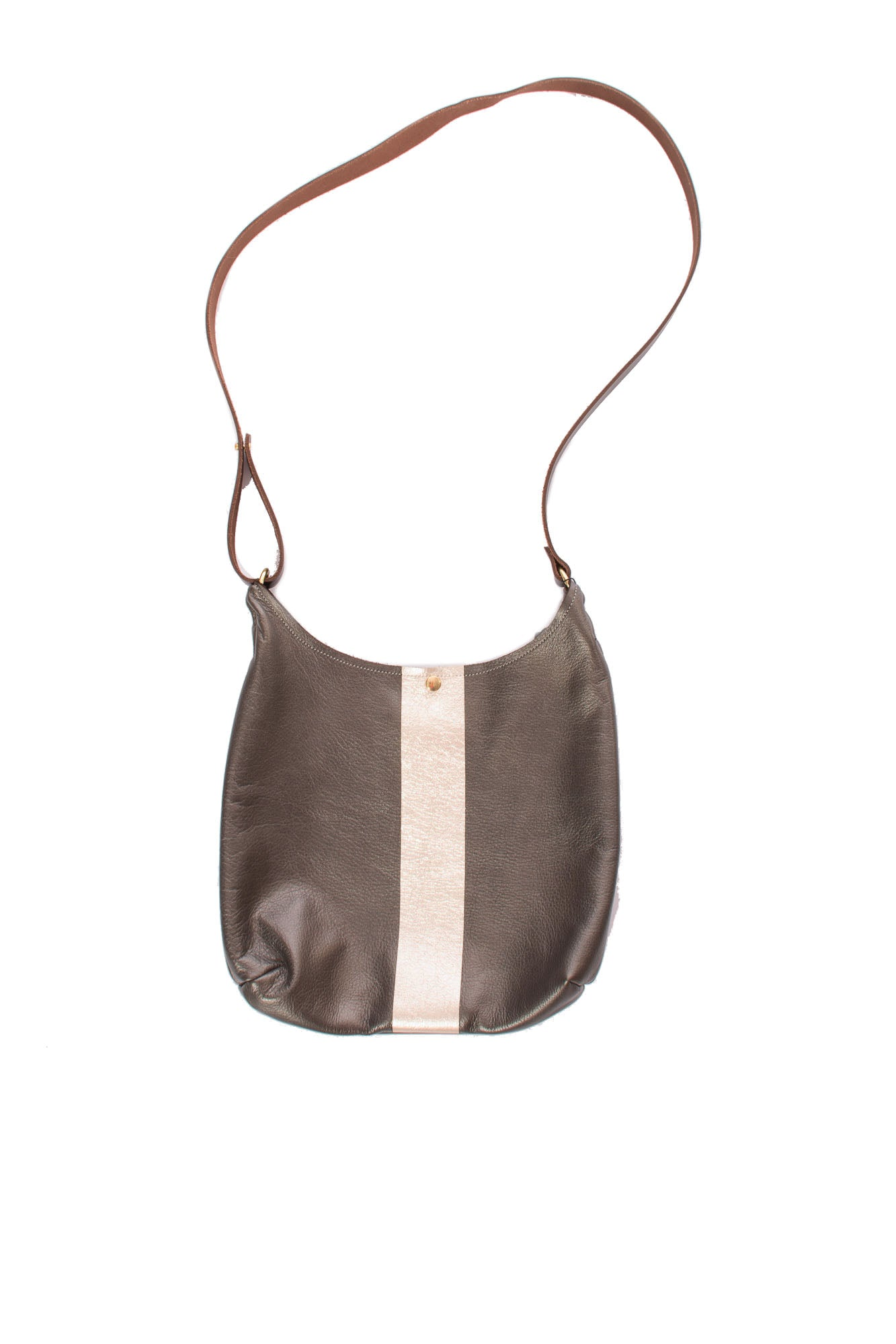 Zina Kao - Russell Cross Body Bag W/Snaps (russell, Pyrite)
