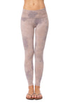 Hard Tail Forever - Contour Roll Down Ankle Legging  (W-338, Tie-Dye BOT2)