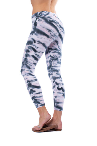 Hard Tail Forever - Roll Down Layered Legging (588, Tie-Dye DSW1) alt view 1