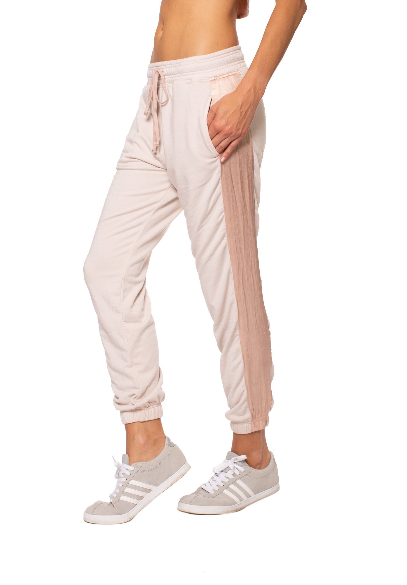 Hard Tail Forever - Satin Inset Jogger (CLO-24, Crushed Rose)