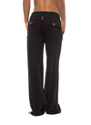Slouchy Cargo Pants (Style SMF-14, Black) by Hard Tail Forever alt view 1