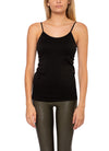 Coobie - Cami w/Pads & Adjustable Straps (1245, Black)