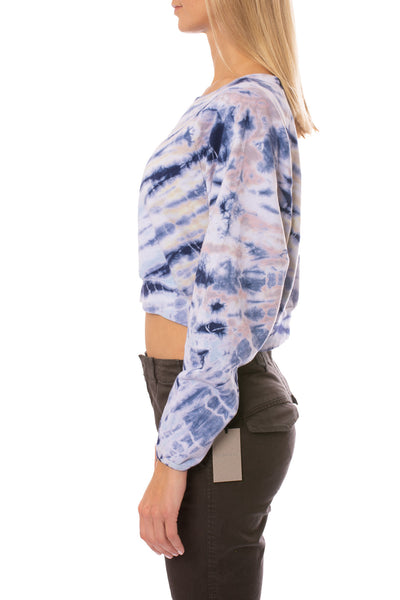 Hard Tail Forever - Crop Pullover (BC-18, Tie-Dye TTS4) alt view 1