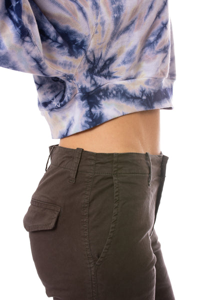 Hard Tail Forever - Crop Pullover (BC-18, Tie-Dye TTS4) alt view 4