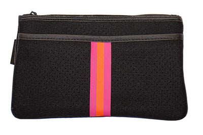 Haute Shore - Dylan Belt Bag (DBB, Black w/Pink & Orange Sripe) alt view 2