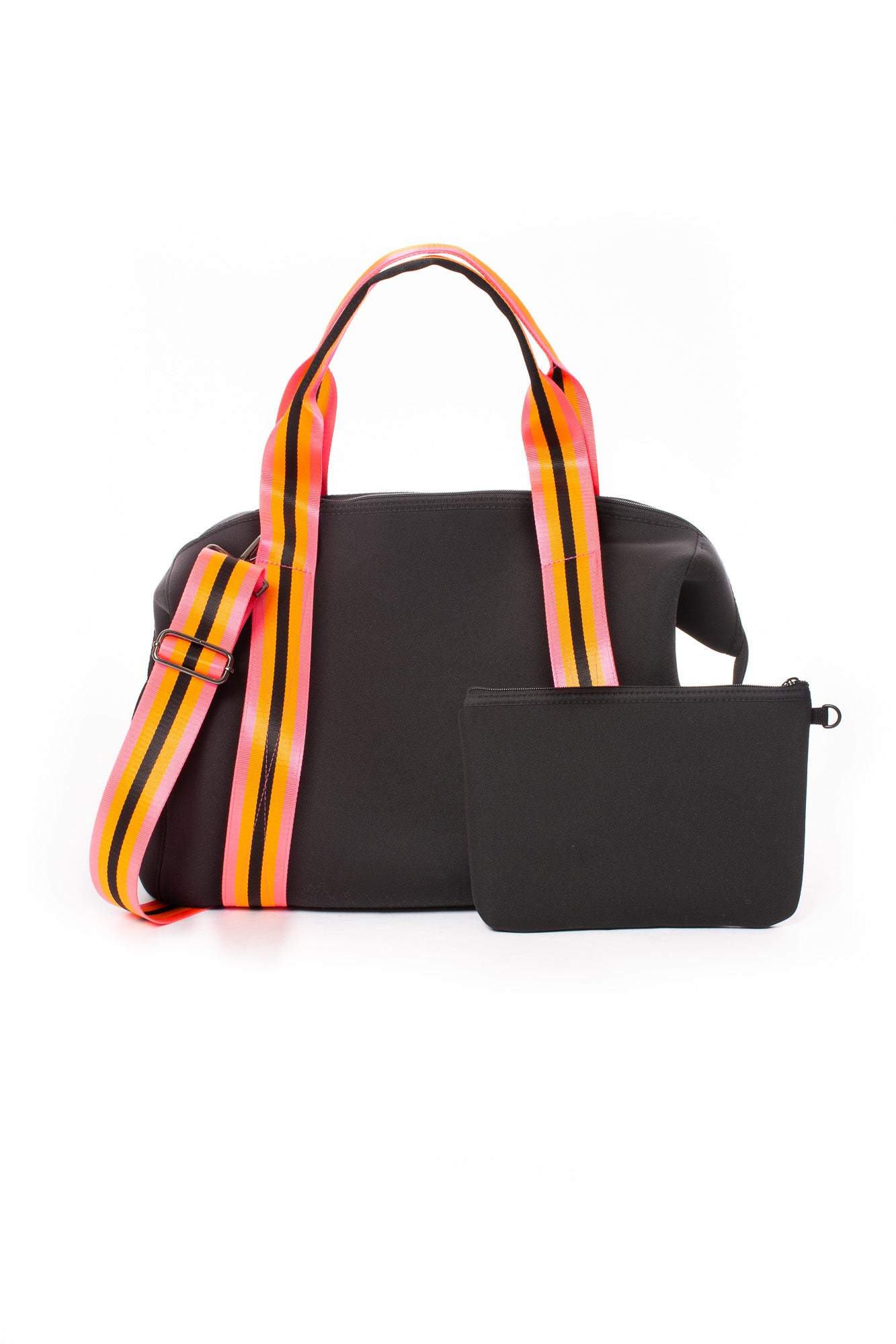 Haute Shore - Tour Weekender Bag (Morgan, Black w/Orange & Black Straps)