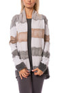 Hard Tail Forever - Slouchy Cardigan (SHE-02, Light Heather Gray & Tie-Dye AND4)