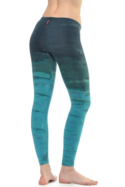 Lowrise Ankle Legging (Style 594, Tie-Dye RH32) by Hard Tail Forever alt view 1