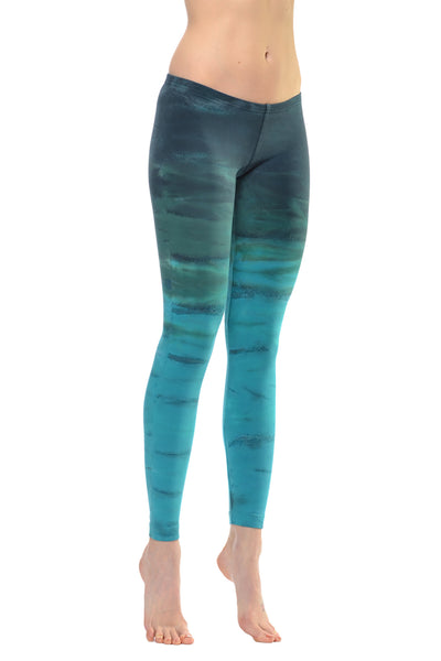Lowrise Ankle Legging (Style 594, Tie-Dye RH32) by Hard Tail Forever
