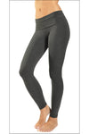 Contour Roll Down Ankle Legging (Style Dark Charcoal) by Hard Tail Forever alt view 1