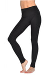 High Rise Ankle Legging (Style W-566, Black) by Hard Tail Forever