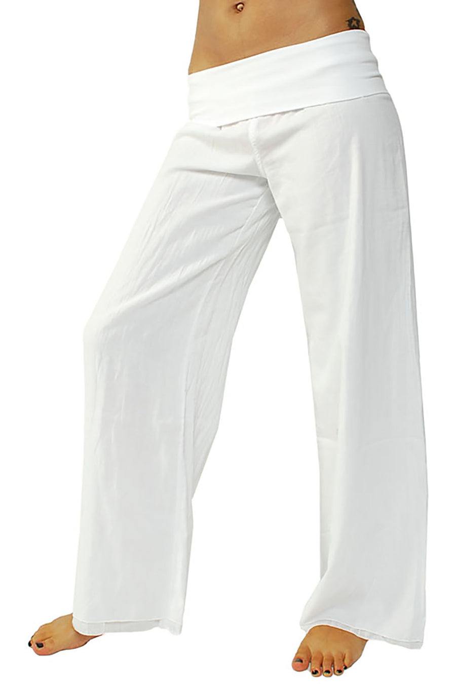 Double Dry Voile Pant (Style VL-29, White) by Hard Tail Forever