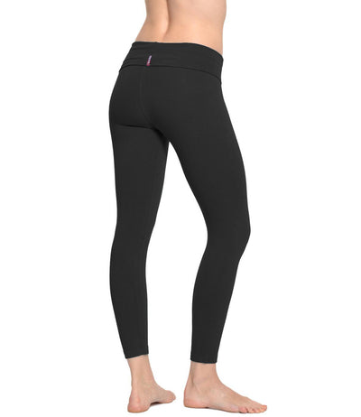Rolldown Layered Legging (Style 588, Black) by Hard Tail Forever