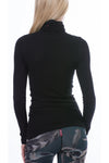 Thermal Long Sleeve Turtle (Style TH-35, Black) by Hard Tail Forever alt view 1