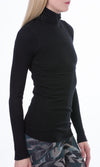 Thermal Long Sleeve Turtle (Style TH-35, Black) by Hard Tail Forever alt view 2