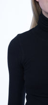 Thermal Long Sleeve Turtle (Style TH-35, Black) by Hard Tail Forever alt view 3