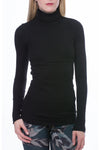 Thermal Long Sleeve Turtle (Style TH-35, Black) by Hard Tail Forever