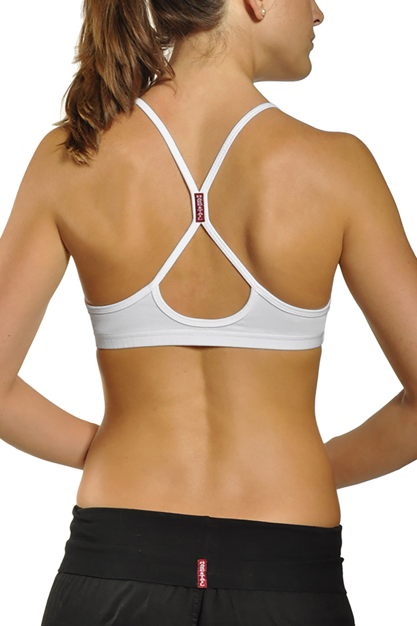 Free Style Bra (Style W-333, White) by Hard Tail Forever