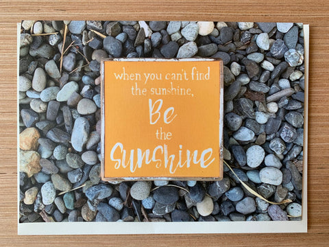 Be the Sunshine Card