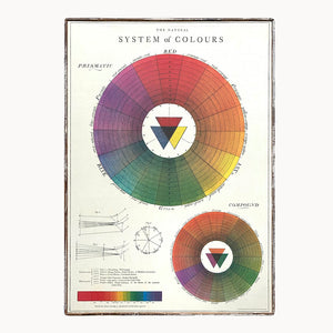 Color System Framed Poster