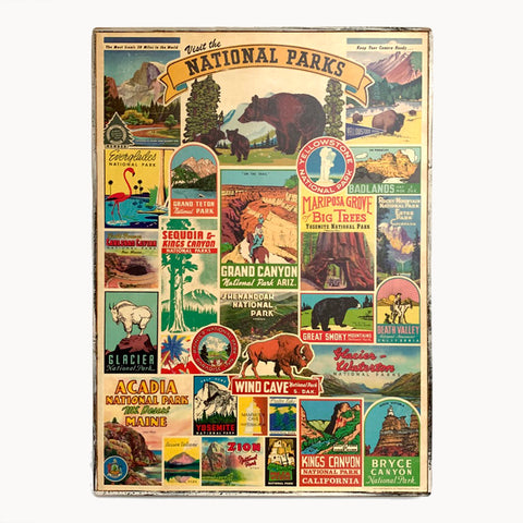 National Parks Framed Poster