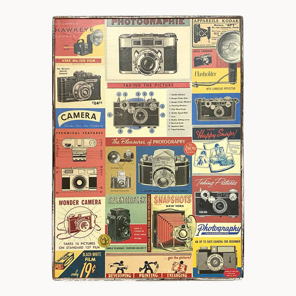 Photography Camera Framed Poster