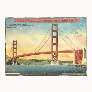 San Francisco Golden Gate Bridge Framed Poster