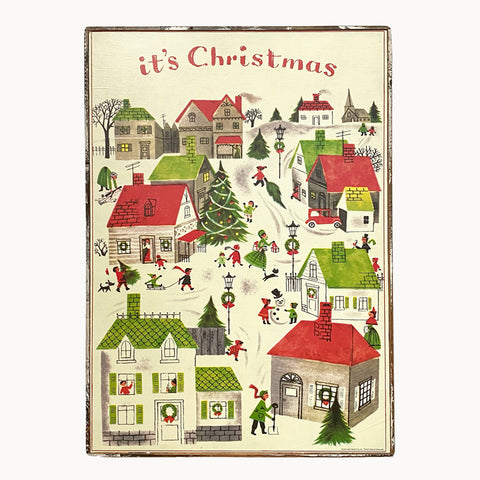 It's Christmas Framed Poster