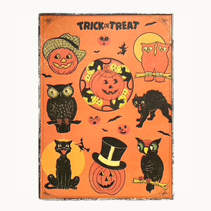 Halloween Trick or Treat Framed Poster
