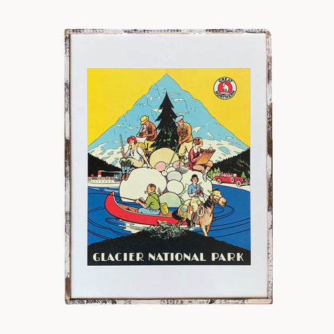 Glacier National Park Framed Print
