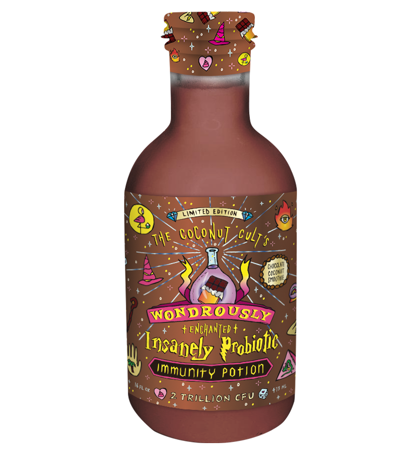 Chocolate Coconut Smoothie Immunity Potion