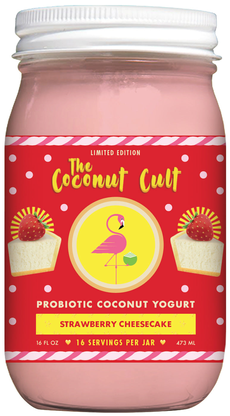 16oz Strawberry Cheesecake Yogurt