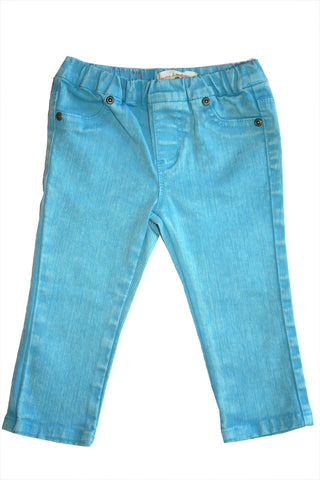 Weather Washed Capri-Blue