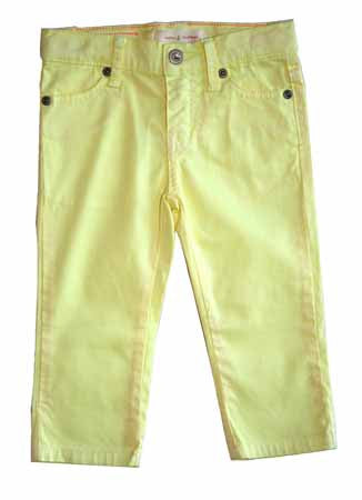 Salt Water Skinny Capri-Lime