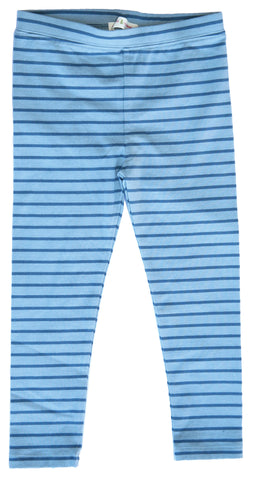 Lighthouse Stripe Leggings Blue-leggings