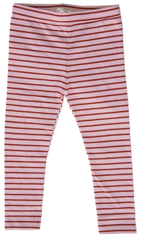 Lighthouse Stripe Leggings Pink-leggings