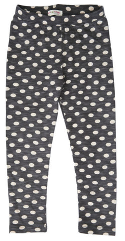Dots Legging- Charcoal