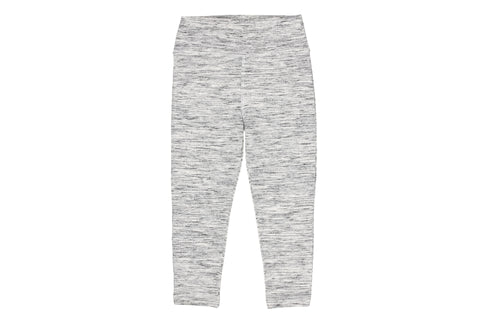 Yoga Salt & Pepper Leggings- Natural