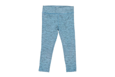Salt & Pepper Legging-Aqua