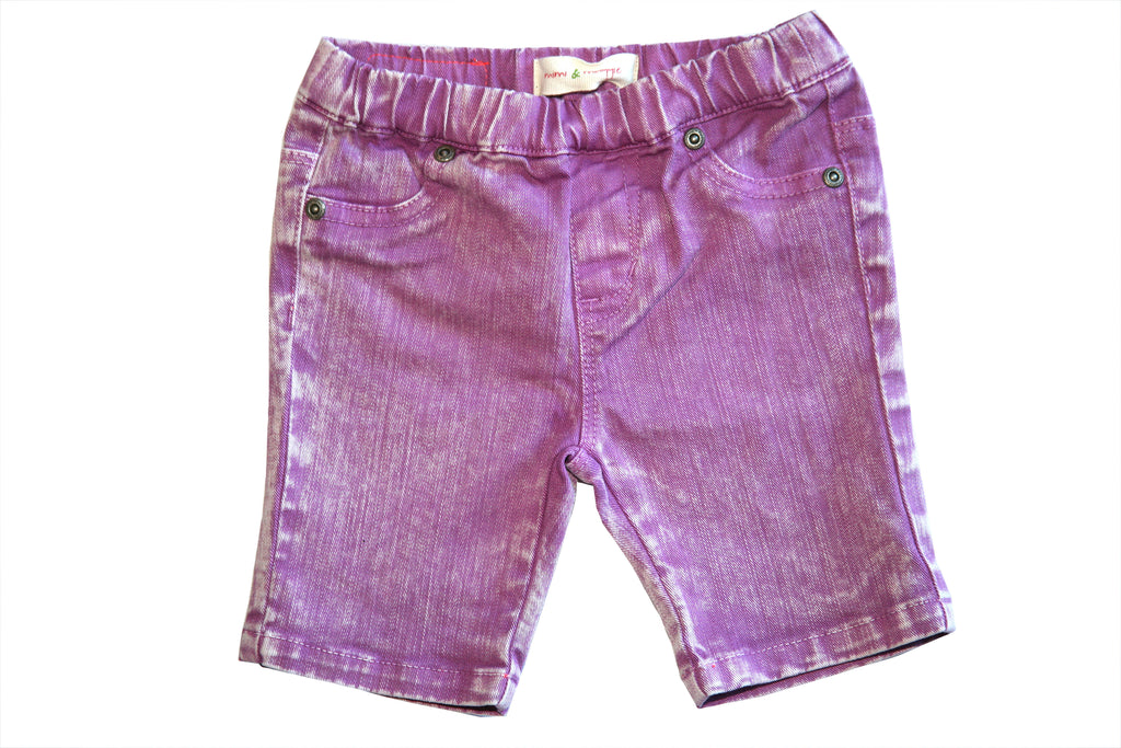 Weather Washed Short-Lavender