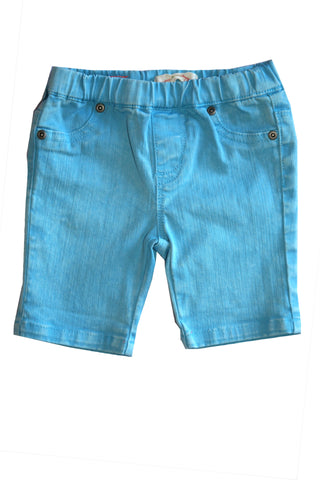 Weather Washed Short-Blue