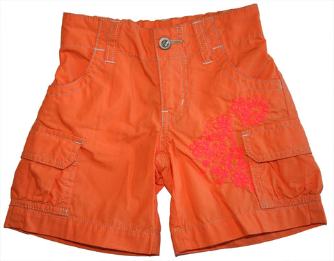 Vacation Cargo Short-Orange