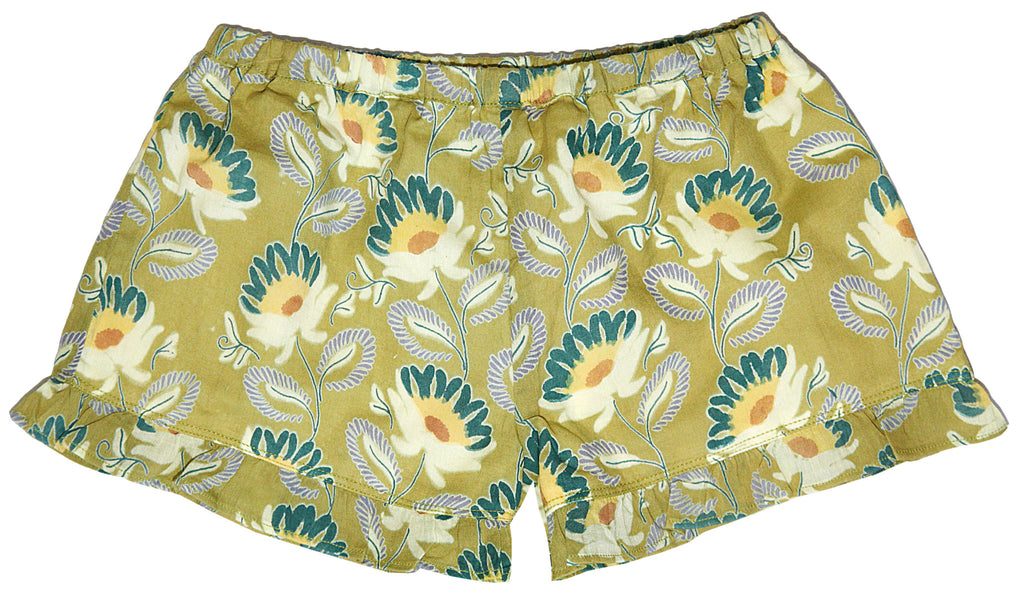 Wild Daisies Short-Green